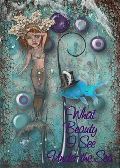 Challenges Gallery » ATC Swap - Beauty Under the Sea