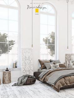 @Behance projeme göz atın: \u201cScandinavian Bedroom\u201d https://www.behance.net/gallery/43541193/Scandinavian-Bedroom