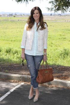 Distressed Denim, Hair Color and other things | The Rich Life (on a budget)