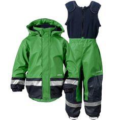 1fb0968e4 Didriksons' Galon® PU Waterproof Boardman Kid's Set - Lawn Green *120cm &  130cm* ONLY