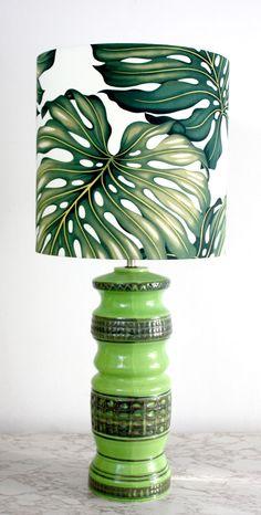 vintage retro lime lamp #green #verde #candeeiro