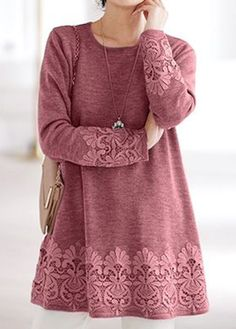 Stylish Tops For Girls, Trendy Tops, Trendy Fashion Tops, Trendy Tops For Women Stylish Tops For Girls, Trendy Tops For Women, Blouses For Women, Women's Blouses, Mode Hijab, Ladies Dress Design, Sleeves, Burgundy, Clothes