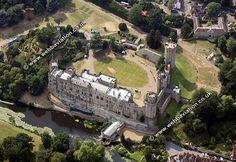 aerial views of castle | warwick castle aerial view aa05535b.jpg