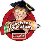 500 Campbell's Labels for Education points PLUS 25 Box Tops for Education (BTFE) - BTFE, CAMPBELLS, Education, Labels, Plus, Points, Tops