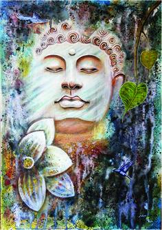Namun Tamang - Buddha before Enlightenment- Acrylic - Painting entry - February 2017 | BoldBrush Painting Competition