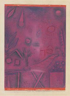 +++  Paul Klee, Landscape for lovers, 1924...