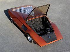 '70 Lancia Stratos concept