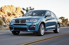 """""""Заряженный"""" BMW X4 поступит в продажу в феврале 2016 года"""