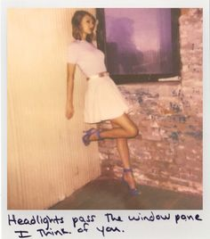 Taylor Swift Polaroid - I Wish You Would #1989