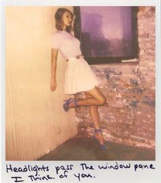 Taylor Swift Polaroid - I Wish You Would #1989