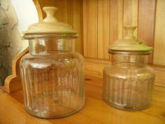 Gedrechselte Deckel für Bonbon Gläser