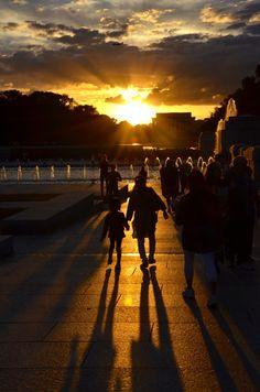 Washington DC Sunset  DesignDestinations.org
