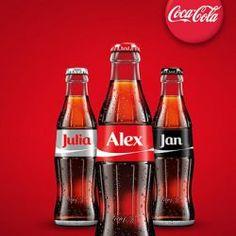 Gastgeschenk personalisierte Cola
