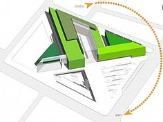 Concept Models Architecture, Library Architecture, Architecture Sketchbook, Architecture Plan, Urban Ideas, Hotel Concept, Zaha Hadid Architects, Roof Design, Sustainable Architecture