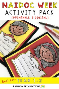 This NAIDOC Week pack contains 13 printable and digital activities designed to help students to think about the message of NAIDOC Week. NAIDOC Week is celebrated in Australia during the first full week of July.