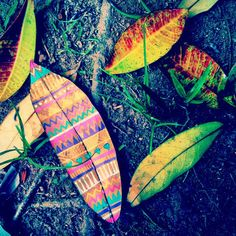 Painted Leaves – Gabee Meyer