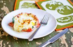 Stuffed breakfast tomatoes - Mytaste.com