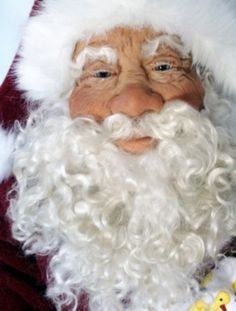 Santa & Christmas Figures by Michele Barrow-Belisle, via Behance