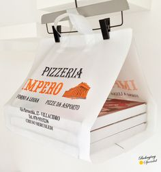 HDPE/LDPE • Pizza Bag • PATENTED
