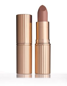 'I created this universally flattering nude-pink shade for Penélope Cruz,' noted Charlotte. 'She actually inspired the entire The Dolce Vita look. It's all about that sexy, sultry Mediterranean beauty — a molten copper smoky eye, feline flick, and a perfect alluring pout.'Charlotte Tilbury K.I.S.S.I.N.G. in Penelope Pink($32) via @stylelist