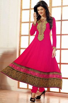 Latest Designer's Anarkali Frocks Collection