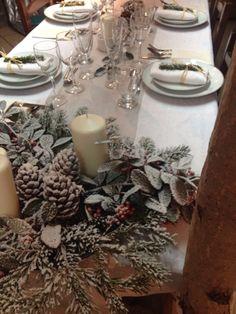 Deco table de Noël