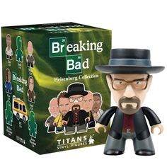 """Titan x Breaking Bad - 3"""" The Heisenberg Collection (Blind Box) – Collect and Display"""