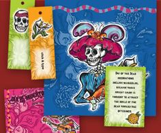 Day of the Dead Party Kit...Free printables