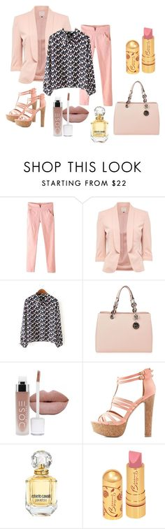"""""""Untitled #208"""" by bluebxrry ❤ liked on Polyvore featuring WithChic, MICHAEL Michael Kors, Charlotte Russe and Roberto Cavalli"""