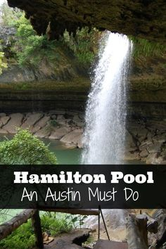 Things to do in Austin, Texas: Hamilton Pool We spent the afternoon hiking to the waterfalls, pool, and grotto at Hamilton Pool Preserve. Texas Vacations, Texas Roadtrip, Texas Travel, Travel Usa, Family Vacations, Family Travel, Texas Vacation Spots, Family Camping, Camping Gear