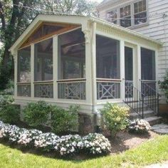 Front Screened Porches , Outdoor Enjoyment Screened Porches In Landscaping And Outdoor Building Category