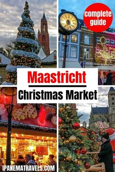 Discover the Christmas Market in Maastricht! Magical Maastricht is one of the best Christmas markets in the Netherlands. Read here tips from a local and practical information about the Maastricht Christmas Market.