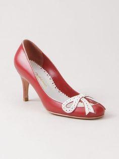 481c50e16ae Sarah Chofakian mid-heel Pumps. Woman Shoes ...