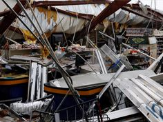 Hurricane Maria made landfall on the southeastern corner of Puerto Rico as a powerful Category 4 storm with 155-mph winds on Wednesday morning.