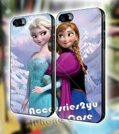 disney frozen anna and elsa Couple iPhone 4 by Accessories2You, $30.00