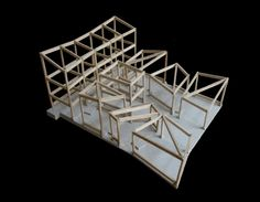 Museum of Handcraft Paper, TAO. china. structural model. timber.