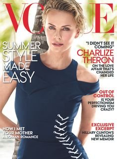 Photos: Charlize Theron on Her New Movie, Motherhood, and Dating Sean Penn – Vogue