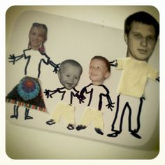 diy family photo, gift for Mothers Day or Fathers Day