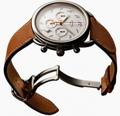 Arceau Chrono Bridon Watch Collection By Hermes