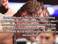 He will always be a champion to me...with or without a title belt♡♡