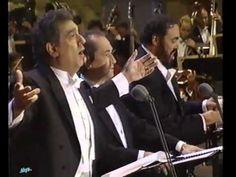 O' Sole Mio - Carreras - Domingo - Pavarotti - Los Angeles 1994... Emozionare Scherzando... - YouTube