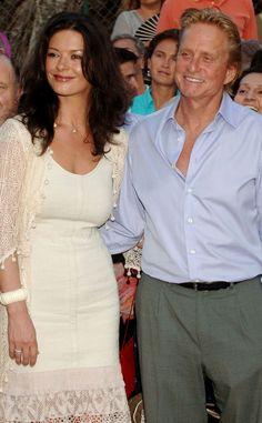 Unbuttoned from Catherine Zeta-Jones & Michael Douglas: Romance Rewind | E! Online