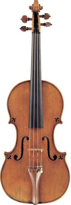 Pietro Giovanni Guarneri 'Of Mantua' (1685) A Violin Mantua, 1685 Labelled Petrus Guarnerius Cremonensis filius Andreæ fecit Mantuæ sub tit. Sanctæ Teresiæ 1685 Length of back: 35.4 cm