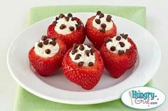 Stuffed strawberries...yum