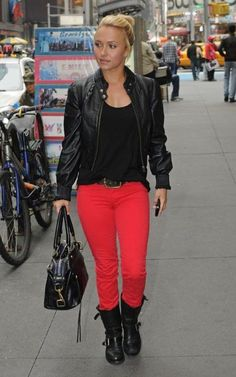 591e7a0ff4 Who made Hayden Panettiere s red jeans