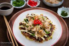 Hiroshima Okonomiyaki 広島風お好み焼き • Just One Cookbook