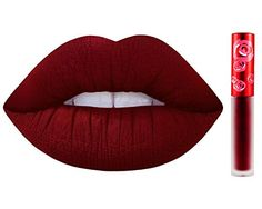 Lime Crime Velvetines Liquid Matte Lipstick - Wicked -- Click image to review more details.