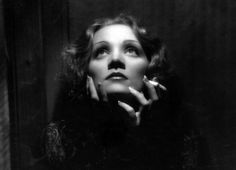 Butterfly lighting to enhance Marlene Dietrich's features in this iconic shot, from Shanghai Express, Paramount 1932 - photograph by Don English
