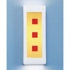 Clay Aladdin Fluorescent Wall Sconce - (In Clay)