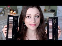 L'oreal La Palette Nude 1 & 2 - Swatches, Demo, & Review - YouTube